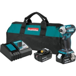 18-Volt 5.0 Ah LXT Lithium-Ion Brushless Cordless Quick-Shift Mode 4-Speed Impact Driver Kit
