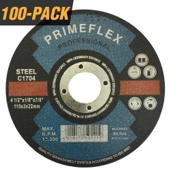 4-1/2 in x 1/8 in, 7/8 in. Cut off Wheel, Cutting Disc for Metal & General Purpose Blade (100-Pack)