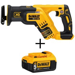20-Volt MAX XR Li-Ion Brushless Cordless Compact Reciprocating Saw (Tool-Only) with 20-Volt MAX 5.0Ah Battery