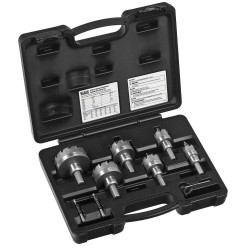 8-Piece Master Electrician's Hole Cutter Kit