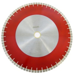 24 in. Bridge Saw Blade with V-Shaped Segment for Granite Cutting