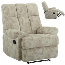 Chair Sofa Velvet Armchair Furniture Soft  Theater Seat Heavy Du
