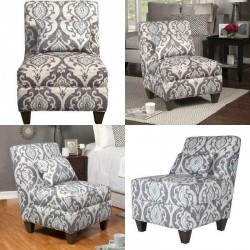 18In Blue Slate Large  Chair Cushion Comfort Living Room Décor Furniture