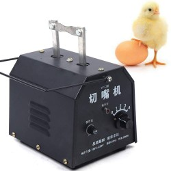 200W Automatic Electric Chicken Debeaking Machine, Chicken Beak Cutting Removing Machine Chicken Debeaker Cutting Equipment 110V 1500-1800pcs/h