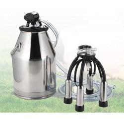 25L Bucket Tank Barrel Stainless Steel for Cow Milker Milking Machine