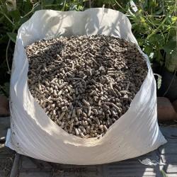 50 Lb. Dehydrated Chicken Manure Pellets, 100% Organic & OMRI-Listed, Vegetable & Fruit Natural Fertilizer