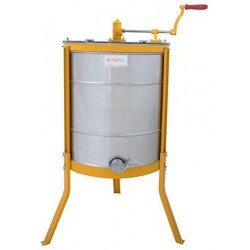 2in1 Manual Honey Extractor Tangential & Radial 3 Deep Or 12 Medium Langstroth Frame Spinner with Interchangeable Cage | Convenient Durable Simple & Economical