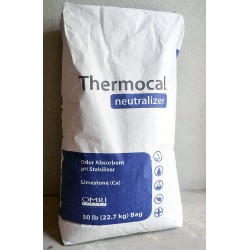 100 Pounds Calcium Carbonate Limestone Powder - Rock Dust - Great Soil Amendment and Fertilizer with Endless Uses - Thermocal Neutralizer
